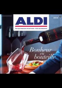 Prospectus Aldi : Bonheur en bouteille