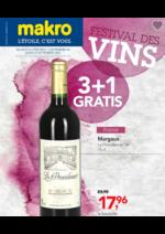 Prospectus  : Festival des vins