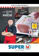 Prospectus Super U : LES JOURS DE MARCHÉ FOIRE AU PORC BRETAGNE URBAIN