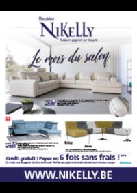 Prospectus Meubles Nikelly : Le mois du salon