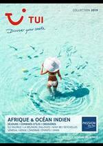 Prospectus  : Afrique & Océan Indien Collection 2019