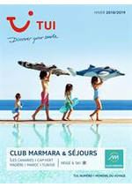 Prospectus Marmara : Club Marmara & Séjours Hiver 2018/2019