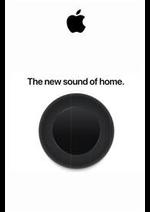 Prospectus Apple : Apple The sound of home