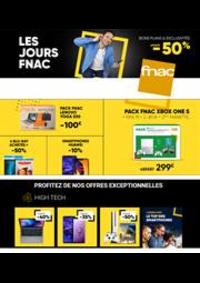 Prospectus FNAC : Les Jours Fnac