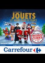 Prospectus Carrefour : Les jouets les moins chers de France !