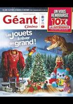 Prospectus Géant Casino : Les jouets à rêver en grand !