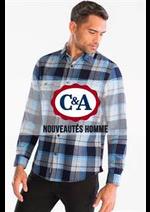 Prospectus C&A : Nouveautés Homme