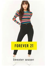 Promos et remises  : Forever 21 Sweater season