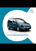 Promos et remises  : Citroën Berlingo Multispace