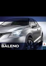 Promos et remises  : Suzuki Baleno