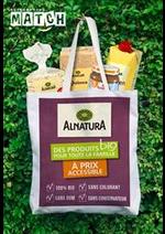 Prospectus Match : Alnatura - Des produits Bio pour toute la famille