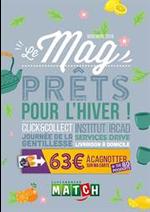 Prospectus Match : Le Mag - Novembre 2018