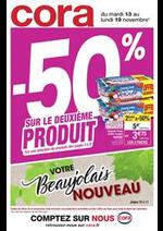 Promos et remises  : -50% sur le deuxième produit