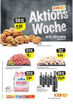 Prospectus Coop Supermarché : Supermarkt-Angebote in der Verkaufsregion Bern-Wallis