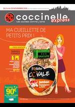 Prospectus Coccinelle Express : Ma cueillette de petits prix!