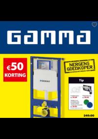 Prospectus GAMMA GERAARDSBERGEN : 50€ korting