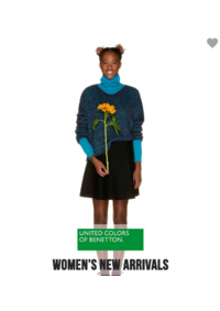 Prospectus United Colors of Benetton Woluwe-Saint-Lambert : Women's new arrivals