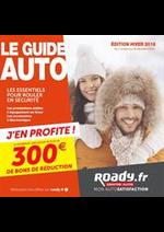 Prospectus Roady : Le guide auto