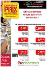 Prospectus Promocash Vert Saint Denis : Exigence prix semaine 47 Offre de dernière minute