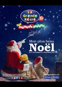 Prospectus La grande Récré PARIS 120 rue d'Alésia : Mon plus beau Noël
