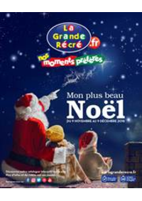 Prospectus La grande Récré LIEUSAINT : Mon plus beau Noël