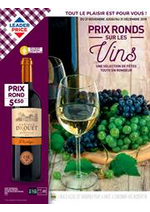 Prospectus Leader Price : Prix Ronds sur les vins