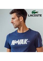 Prospectus Lacoste : Lacoste Tennis