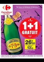 Prospectus Carrefour Market : 1 + 1 gratuit