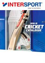 Prospectus Intersport : INTERSPORT Cricket Catalogue