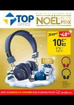 Prospectus Top office : Noël a petits prix