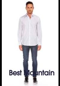 Prospectus Best Mountain PARIS 28 boulevard Saint Michel : Collection Chemises Homme