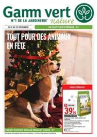 Prospectus Gamm vert RAMECOURT : Tout pour des animaux en fête