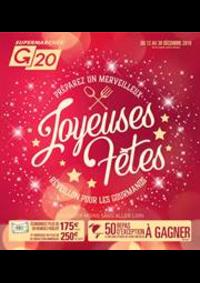 Prospectus G20 TRIGNAC : Joyeuses fêtes