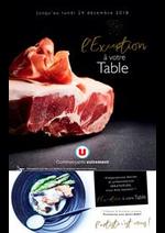 Prospectus Super U : L'exception à votre table