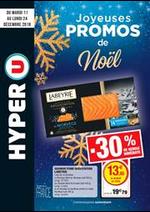 Prospectus Hyper U : Joyeuses promos de Noël