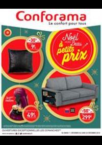 Prospectus Conforama BETHUNE - BRUAY : Noël est plus Beau à petits prix
