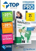 Prospectus Top office : S'organiser comme un Pro