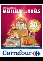 Prospectus Carrefour : On a tous le droit au meilleur des noëls - Jusqu'à 50% d'économies
