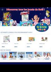 Prospectus La grande Récré ROUEN : Découvrez tous les jouets de Noël!