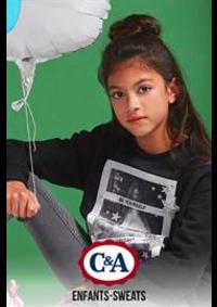 Prospectus C&A RENNES 18 - Rue d'Isly : Enfants-Sweats