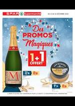 Prospectus Spar : Des promos magiques
