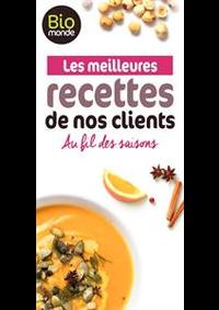Prospectus Biomonde Paris : Les meilleures recettes de nos clients