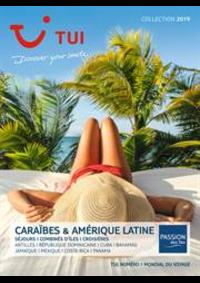 Prospectus TUI Paris 1 : Brochure Caraïbes & Amérique Latine Collection 2019