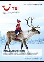 Promos et remises  : Brochure Merveille d'Hiver Collection Hiver 2018/2019