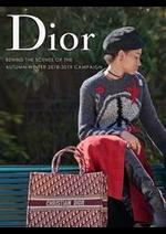 Prospectus Dior : Behind the Scenes of the Autum-Winter 18-19 Campaign