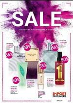 Prospectus  : Sale Import parfumerie