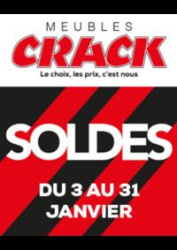 Prospectus Meubles Crack : Soldes