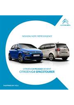 Prospectus  : Citroën C4 Picasso - Citroën C4 Spacetourer