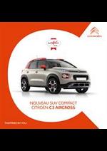 Promos et remises  : Citroën C3 Aircross