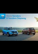 Prospectus  : Dacia Sandero & Sandero Stepway